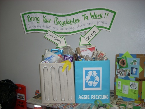 recycling-display